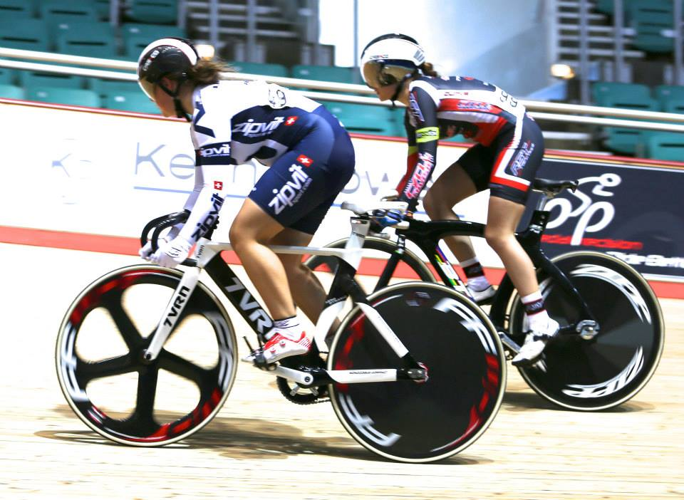 Grace bags U16 track sprint silver medal